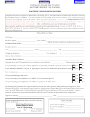 Electronic Filing Registration Form - United States District Court