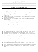 Accounting Clerk Resume Template