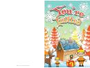 Santa Elves Invitation Template