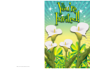 Flower Invitation Template