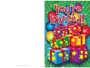 Gifts Invitation Template