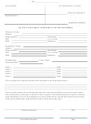No Fault Divorce Agreement Template (with Children)