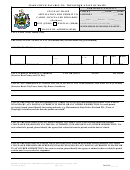Ag Form 1r - State Of Maine Application For Permit To Carry Concealed Firearms