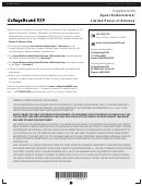 Agent Authorization/ Limited Power Of Attorney Form