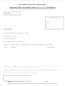 Registration Statement For Pro Hac Vice Attorneys
