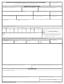 Dd Form 1610, 2003, Request And Authorization For Tdy Travel Of Dod Personnel
