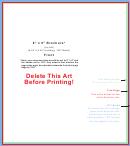 8 X 9 Brochure Template