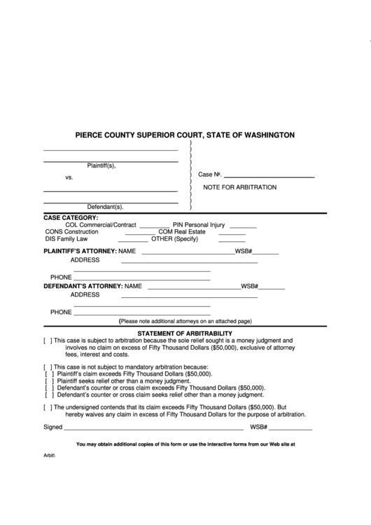 Wa Court Forms - Www imagez co