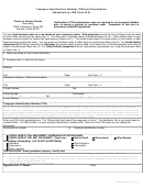 Florida Taxpayer Identification Number (tin) And Certification (substitute For Irs Form W-9)