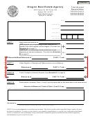 Oregon Real Estate Agency Trust Account Reconciliation
