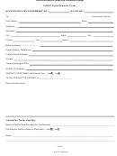 Chris Data Request Form