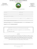 Oklahoma Election Board - Voter Registration Application