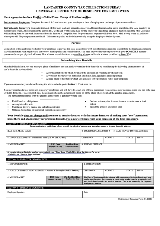Top 10 Lancaster County Pa Tax Forms And Templates Free To Download