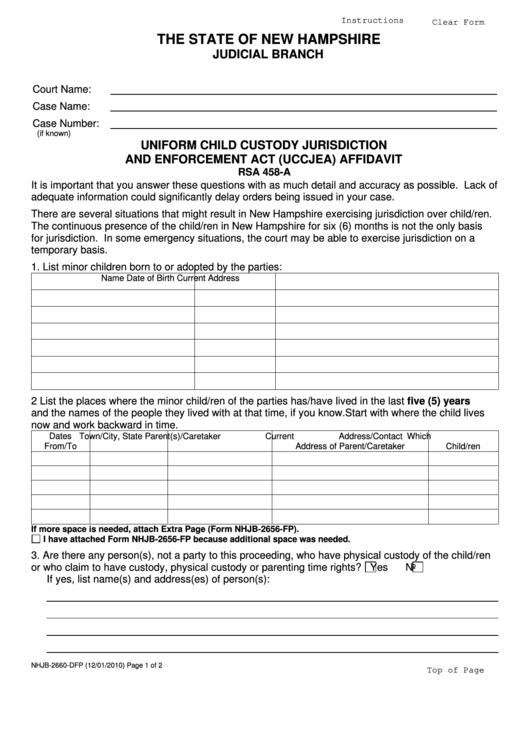Top Uccjea Form Templates free to download in PDF, Word and Excel ...