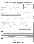 Utility User's Tax Exemption/electric & Water Lifeline Rate Application