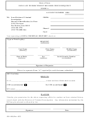State Of Iowa Non-Law Enforcement Record Check Request Form A Printable pdf