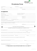 Permission Form - Girl Scouts Of North East Ohio