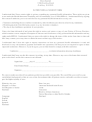 Patient Hipaa Consent Form