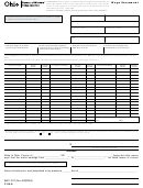 Form C-94-a - Wage Statement - Ohio