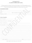 Confidential Patient Complaint Form