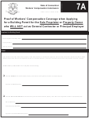 7a - Proof Of Worker's Compensation Coverage - State Of Connecticut Workers' Compensation Commission
