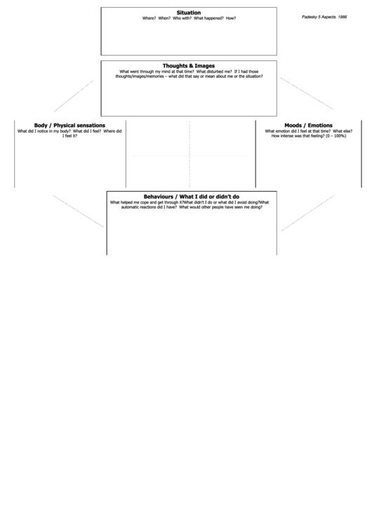 Behaviours & Aspects Printable pdf