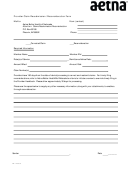 Form Ne-14-06-67 - Aetna Provider Claim Resubmission/reconsideration Form