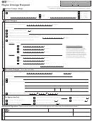 Form 74-157, 2010, Payee Change Request