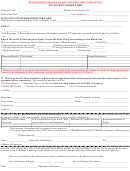 Court Of Appeals Transcript Order Form