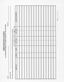 Crime Scene Entry Log Sheet