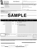 Sample Check Request Form