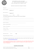 Honor Guard Detail Request Form