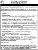Apprentice Electrician License Application Instructions