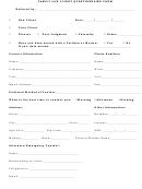 Family Law Client Questionnaire Form