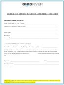 Ach/direct Deposit Payment Authorization Form - Ohio River Properties, Llc