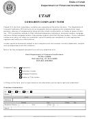 Consumer Complaint Form