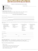 Crime Victim Registration Form