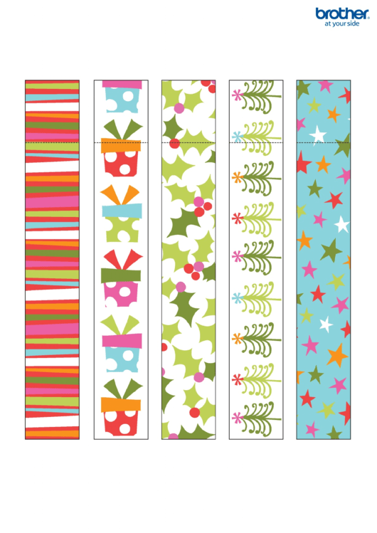 Christmas Paper Chain Templates