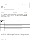 Form Ncui 506e - Unemployment Insurance - Work Search Record