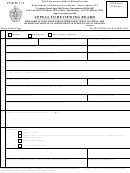 Form 112 - Appeal To Reviewing Board