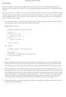 Computer Science Worksheet