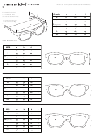 Framed By Karl Glasses Size Chart