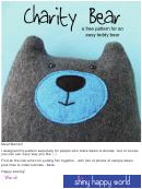 Cut-out Teddy Bear Template