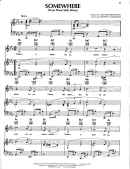 West Side Story - Somewhere Sheet Music