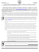 Union Organizing Certification/declaration - Subject To Audit - Suffolk County Department Of Labor