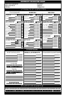 Aberrant Character Sheet