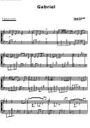 Gabriel - Yiruma Sheet Music