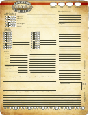 Swd Character Sheet