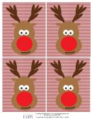 Reindeer Head Template