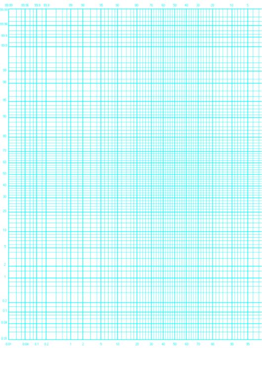 Log Graph Paper Printable pdf